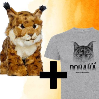 Pack lince ibérico peluche